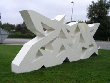 Mikael Madsen – Graffiti Sculpture