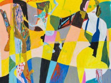 Søren Ankarfeldt – Tre Verdener 2014 – 120×136 cm
